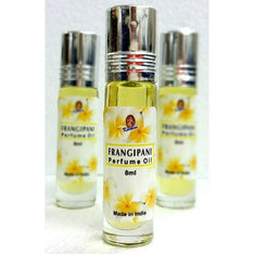 Kamini Roll On Perfume Oil Frangipani - The Hippie House