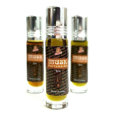Kamini Roll On Perfume Oil Musk - The Hippie House