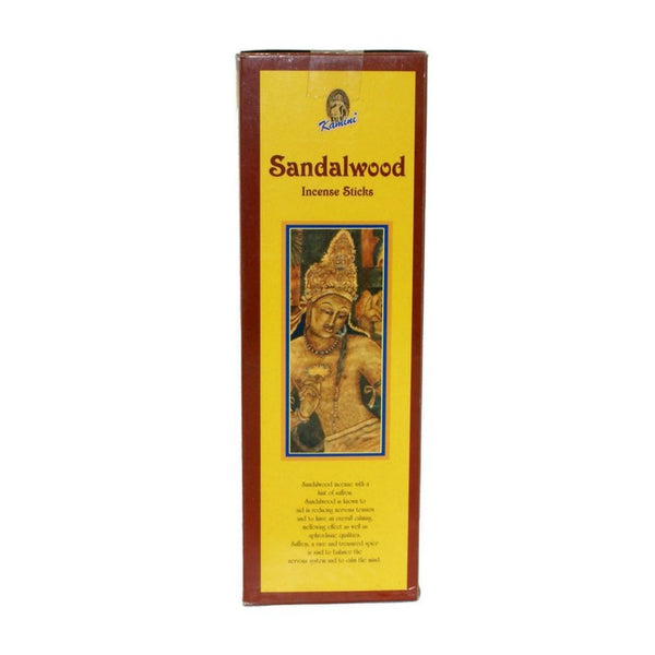 Kamini Sandalwood Incense Sticks - 200 Sticks - The Hippie House