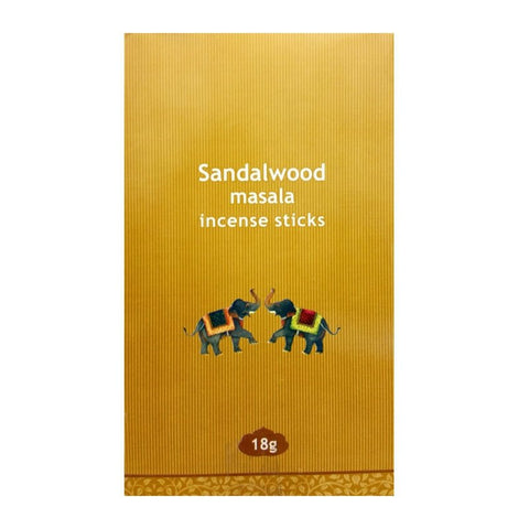 Kamini Sandalwood Masala Incense Sticks - 180 Grams - The Hippie House