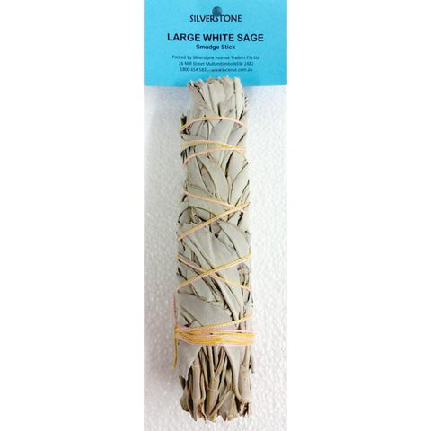 Large White Sage Smudge Stick - The Hippie House