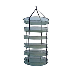 "LC 6 Tier Open Herb / Botanical Dry Rack - 30"" - The Hippie House"