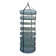 "LC 8 Tier Open Herb / Botanical Dry Rack - 24"" - The Hippie House"