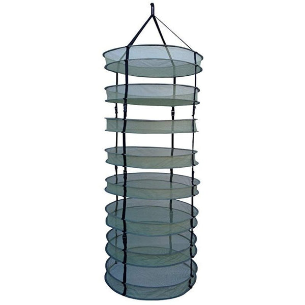 "LC 8 Tier Open Herb / Botanical Dry Rack - 36"" - The Hippie House"