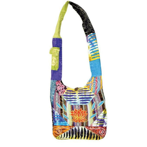 Lotus Hobo Styled Shoulder Bag - The Hippie House