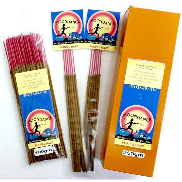 Moondance Incense - Purple Haze - 100g - The Hippie House