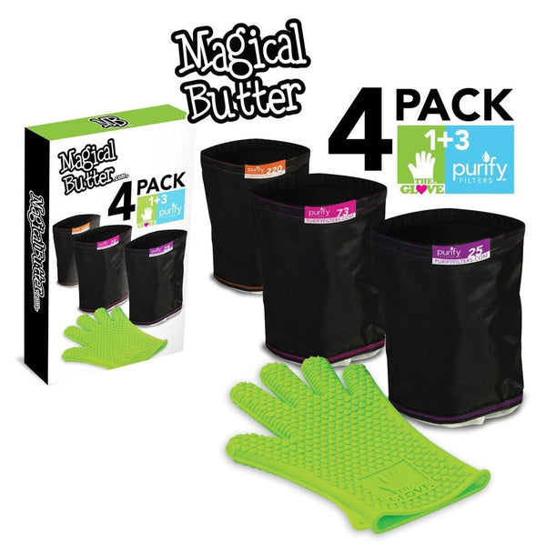 Magical Butter - Purify Filters And Glove - 4 Pack - The Hippie House