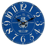 Wall Clock - French Blue - Maison De Paris - The Hippie House