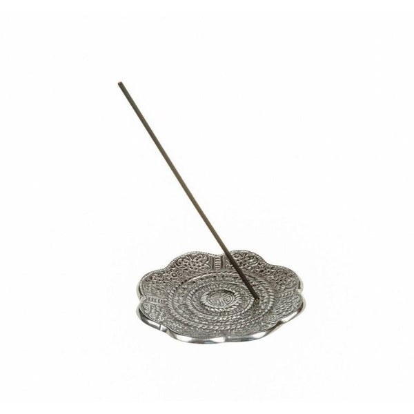 Metal Incense Holder - Round Ash Catcher - The Hippie House