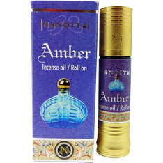 Nandita Amber Perfume Oil - The Hippie House