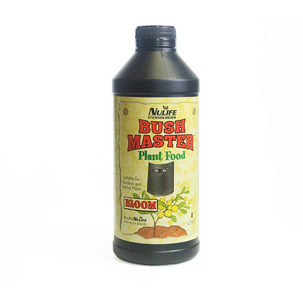 Nulife Bush Master Bloom - 1L - Soil Nutrient - The Hippie House