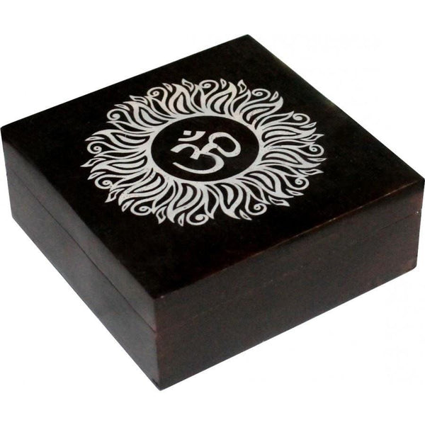 Om Soapstone Box - The Hippie House