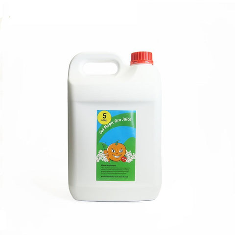 Ozi Magic Gro Juice - 5 Litre - The Hippie House