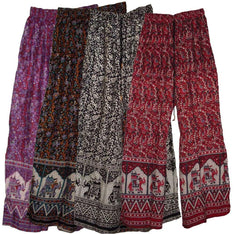 Palazzo Pants - Assorted Elephant Designs - The Hippie House