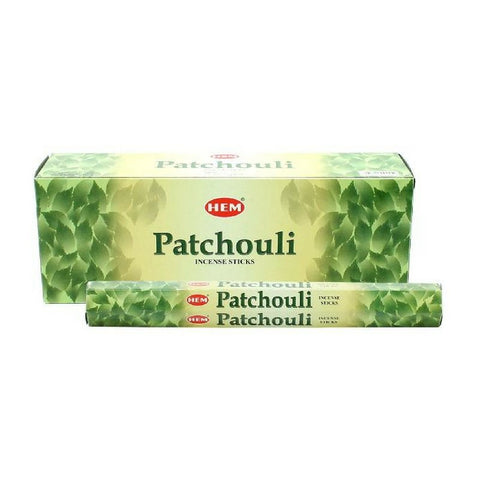 Patchouli Garden Incense Sticks - HEM - Box Of 6 - The Hippie House