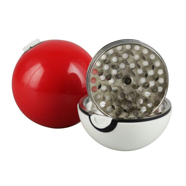 Pokey Ball 3 Piece Herbal Grinder - The Hippie House
