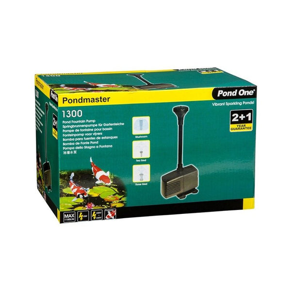 Pond One Pond Master 1300 Water Pump - 1100 L/H - The Hippie House