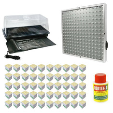 Propagation Kit With LED Grow Light - For Seeds + Smaller Plants - The Hippie House