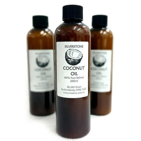 Pure Refined Coconut Oil 250ml - The Hippie House