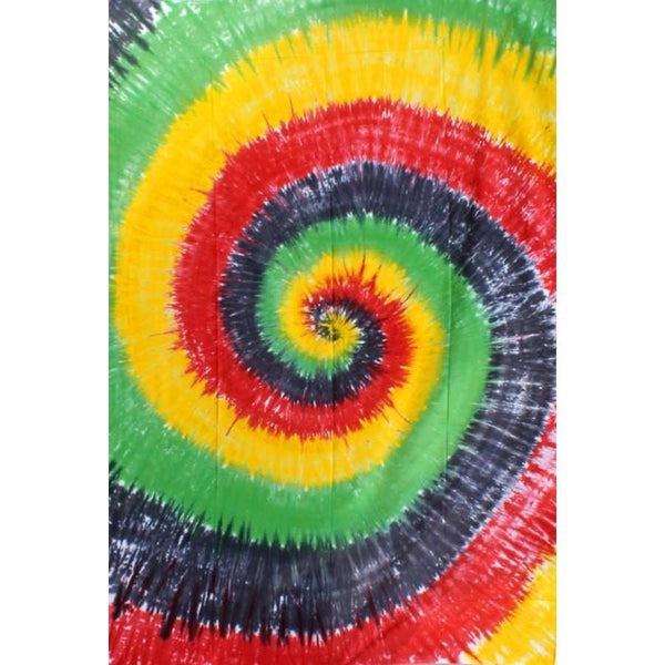 Tie Dye Swirl Patterned Tapestry - The Hippie House