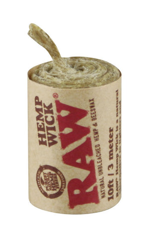 Raw® Hemp Wick™ - 3 Meters - The Hippie House