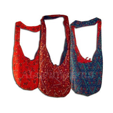 Reversible Hobo Shoulder Bags - Floral Prints - The Hippie House