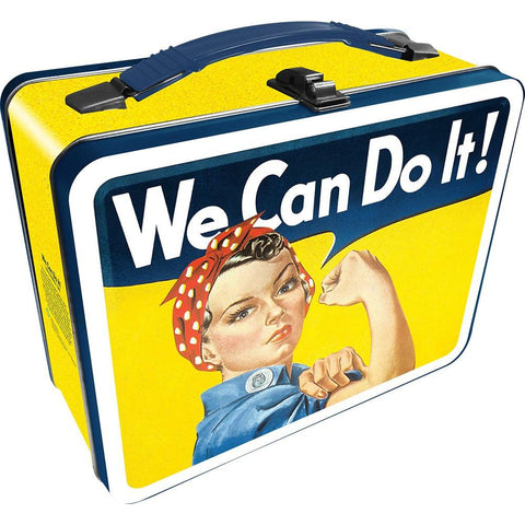 Roise The Riveter Metal Lunch Box - The Hippie House