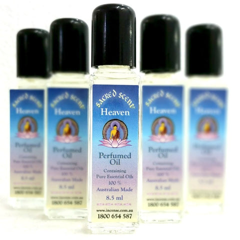 Sacred Scent Perfumed Oil Heaven - The Hippie House