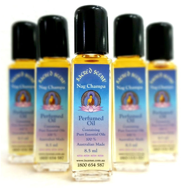 Sacred Scent Perfumed Oil Nag Champa - The Hippie House