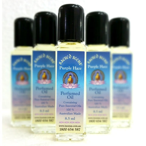 Sacred Scent Perfumed Oil Purple Haze - The Hippie House