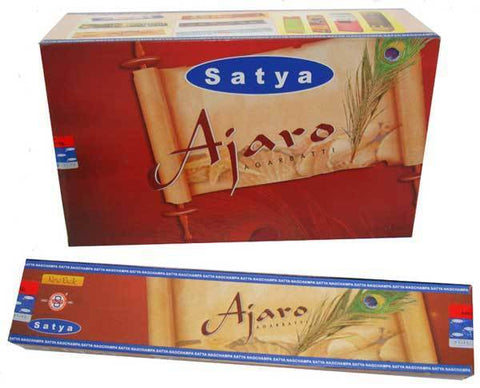Satya Ajaro Incense Sticks - 180 Grams - The Hippie House