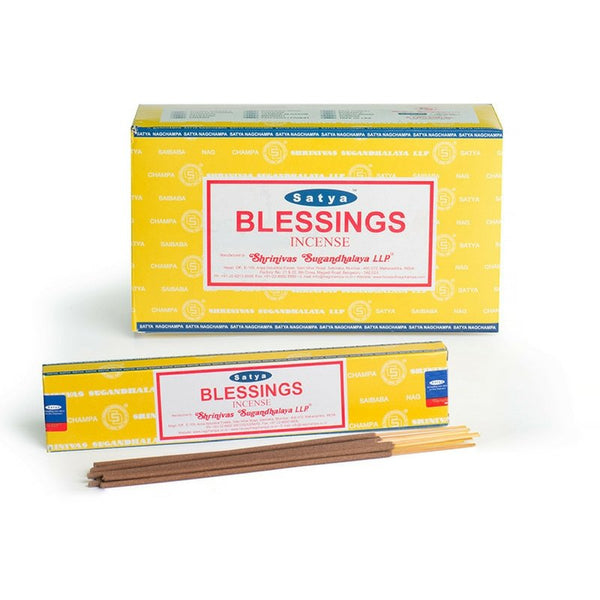 Satya Blessings Incense Sticks - 180 Grams - The Hippie House