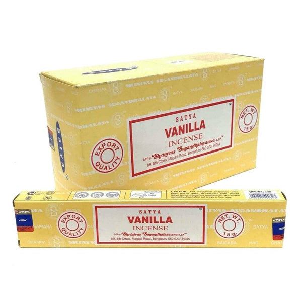 Satya Earth Vanilla Incense - 180 Grams - The Hippie House