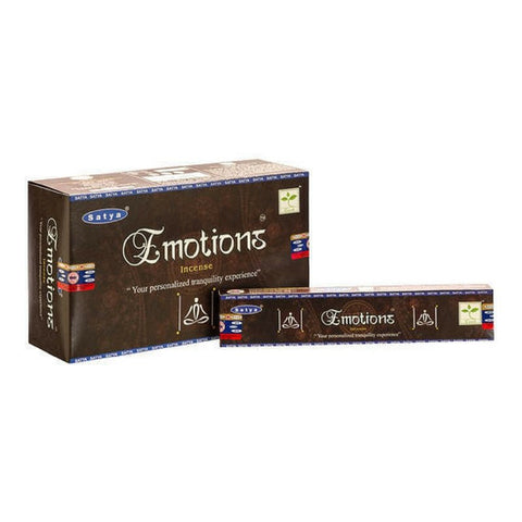 Satya Emotions Incense Sticks - 180 Grams - The Hippie House