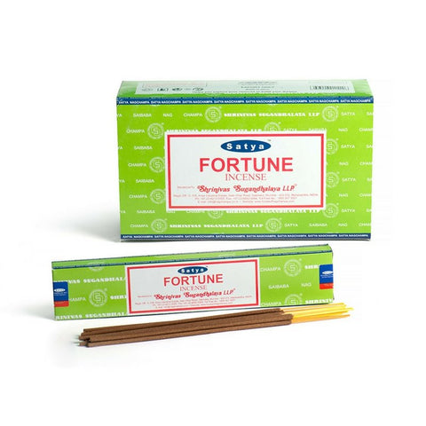 Satya Fortune Incense Sticks - 180 Grams - The Hippie House