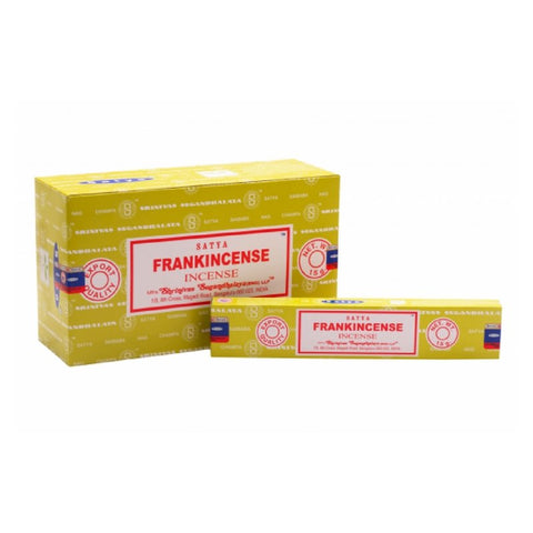 Satya Frankincense Incense Sticks - 180 Grams - The Hippie House