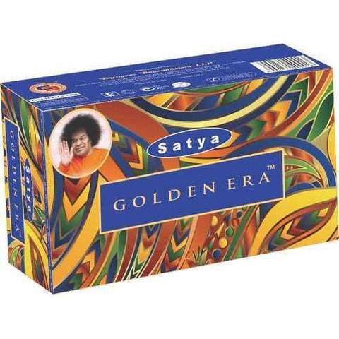 Satya Golden Era Incense Sticks - 180 Grams - The Hippie House