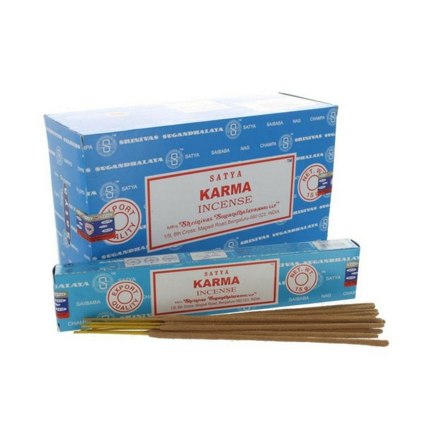 Satya Karma Incense Sticks - 180 Grams - The Hippie House