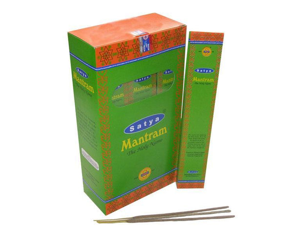 Satya Mantram Incense Sticks - 180 Grams - The Hippie House