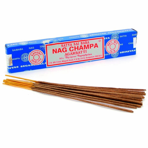 Satya Nag Champa Incense Sticks - The Hippie House
