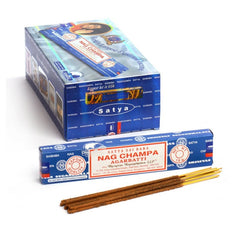 Satya Nag Champa Incense Sticks - 180 Grams - The Hippie House