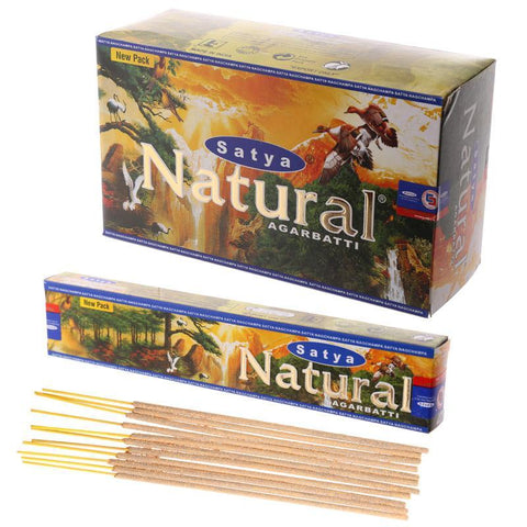 Satya Natural Incense Sticks - 180 Grams - The Hippie House