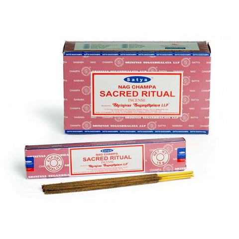Satya Sacred Ritual Incense Sticks - 180 Grams - The Hippie House