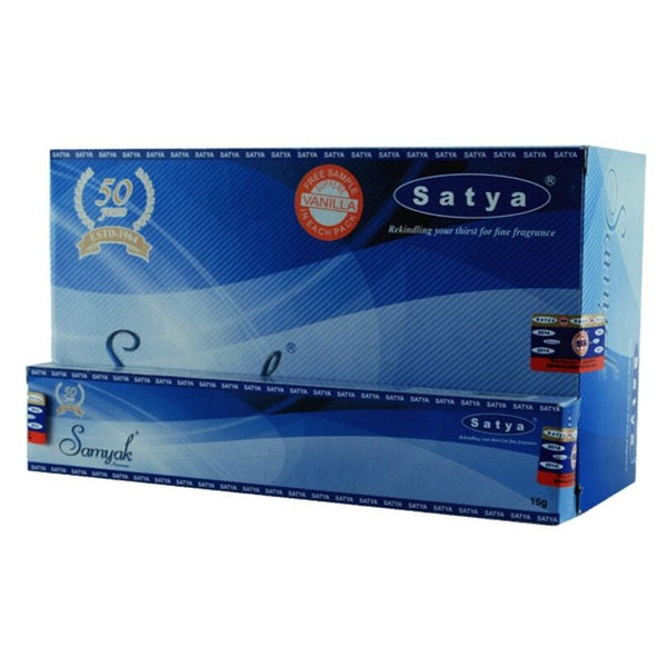 Satya Samyak Incense Sticks - 180 Grams - The Hippie House