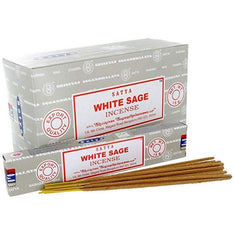 Satya White Sage Incense Sticks - 180 Grams - The Hippie House