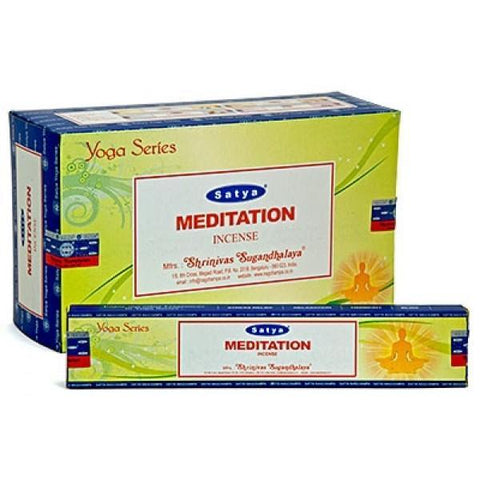 Satya Yoga Series: Meditation Incense Sticks - 180 Grams - The Hippie House