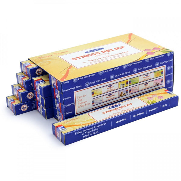 Satya Yoga Series: Stress Relief Incense Sticks - 180 Grams - The Hippie House