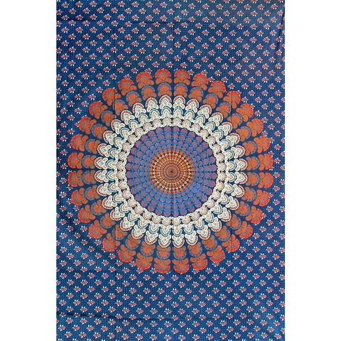 Scallop Circles Tapestry - The Hippie House