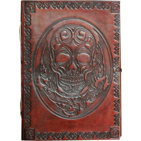 Skull Leather Journal - The Hippie House