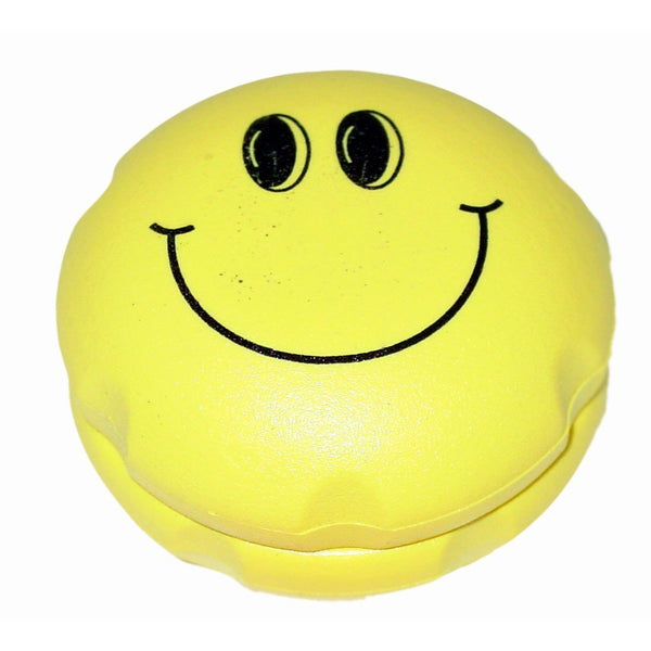 """Smiley"" Magnetic Ball Grinder - The Hippie House"